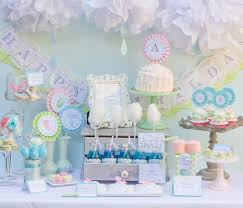 Sweet Little Boy Baby Shower Party  Baby Shower Ideas  Themes Baby Shower Party Table Decorations