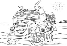miss fritter from cars 3 coloring page from disney cars select from 25655 printable crafts of cartoons nature any more