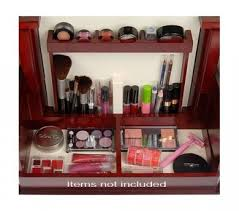 deluxe cosmetic organizer by lori greiner inside view