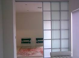 image of simple interior doors with glass