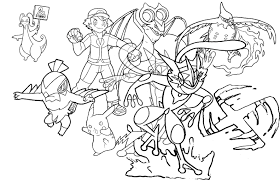 Unique tips how to draw pokemon xyz download how to draw pokemon #12421521. Ash S Current Kalos Team As Of Episode 908 By Realarpmbq On Deviantart