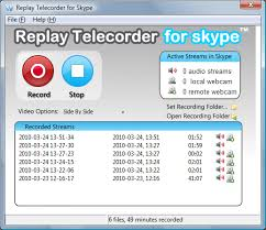 record skype video calls replay telecorder for skype record phone calls video