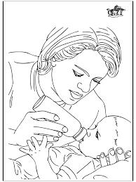 Baby En Moeder 1 Kleurplaten Baby