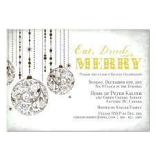 printable christmas invitations printable christmas invitations eat drink and be merry printable