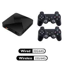 Game Box G5 S905L WiFi 4K HD Super Console X 50+ Emulator 40000+ Games  Retro TV Box Video Game Player For PS1/N64/DC POWKIDDY|Video Game Consoles