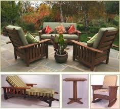 Craftsman Style Patio Furniture Craftsman Style Outdoor Furniture