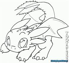 Peachy Design Ideas Toothless Coloring Pages How To Train Your