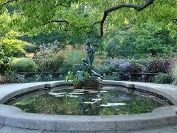 conservatory garden fountain central park photos
