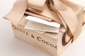 free gift wrap olive cocoa style