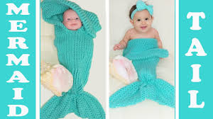 Mermaid Tail Blanket Knitting Pattern Magnificent Pt48 Glama's 48 In 48 Loom Knit Mermaid Tail CocoonBlanket YouTube