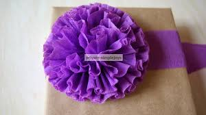 Making Flower Using Crepe Paper Simplejoys Crepe Paper Flowers