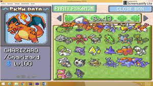 pokemon rojo fuego:Hack Pokemon rojo fuego mega evoluciones!!! - YouTube