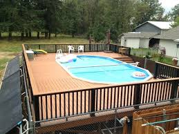 above ground round pool with deck. Contemporary Ground Above Ground Oval Pool Deck Plans Round  With And Above Ground Round Pool With Deck N