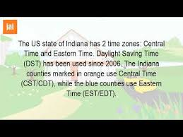 Is Indiana In The Eastern Time Zone