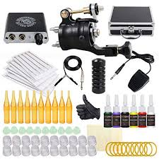 Extreme S2 Complete Rotary <b>Tattoo Machine Kit Power</b> Supply ...
