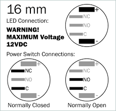 uv illuminated vandal resistant momentary switch 16mm black please be very careful the power you apply to the led we cannot accept any returns of switches that have a burnt out led max voltage is 12v