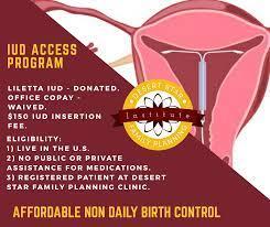 Birth Control IUD | Desert Star Institute for Family Planning, Inc