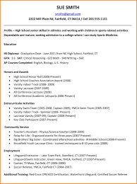 11 High School Scholarship Resume Pear Tree Digital