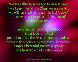 Christian Servanthood Quotes Best of Heartprints Of God Christcentered Servanthood