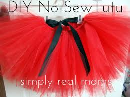 Adorable Diy No Sew Tutu