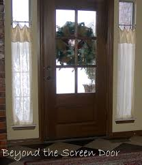 front door window coveringsBest 25 Sidelight curtains ideas on Pinterest  Front door