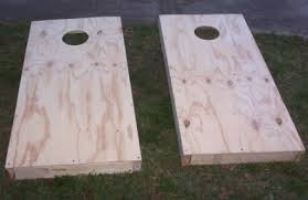 Wooden Corn Hole Game How To Build A Cornhole Game 93