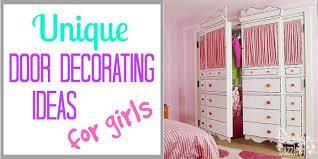 Decorating Door Ideas for Girls Design Dazzle