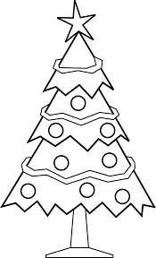 Small Picture Coloring Pages Free Printable Christmas Tree Coloring Pages For