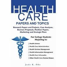 health care essay topics