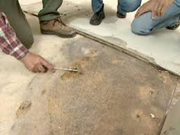 Repair Bathroom Floor How To Repair A Water Damaged Subfloor How Tos Diy