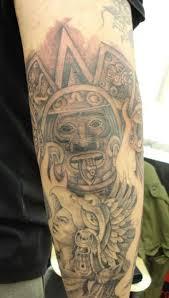 Aztec Tattoo Patterns Amazing Aztec Tattoo Design Tattoo Patterns Tatts Pinterest Tattoo