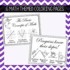 Small Picture Coloring Pages High School Math by Amazing Mathematics TpT