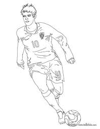 Small Picture Kaka playing soccer coloring pages Hellokidscom