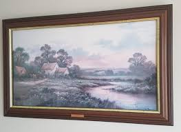 Signed Wendy Reeves Print In Frame With Engraved Gold Plated Name In Front  For Sale in Oldbawn, Dublin from martara