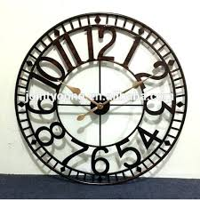 large outdoor clock large outdoor wall clock large outdoor clock metal wall clock street clock large outdoor clock