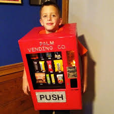 Kids Vending Machine Costume