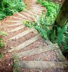 diy garden steps and stairs ideas
