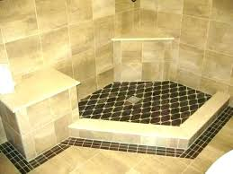 how to make a shower base how to build a shower base concrete shower floor how