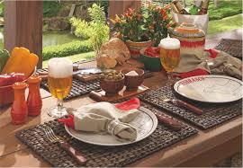 Neste artigo, vamos listar algumas dicas simples que vão te ajudar a decorar área de churrasco. Dicas Para Decorar A Mesa No Jardim Copa Cia