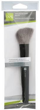 qvs скошенная кисть для румян angled blusher brush