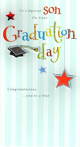 Congratulations Special Son Graduation Greeting Card Cards