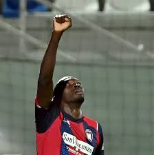 Simy Nwankwo scored for Crotone... - Soar Super Eagles