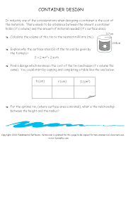 Free high school math worksheet from Funmaths.com | grade 10 ...
