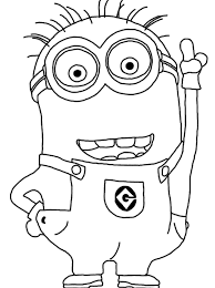 Small Picture Minion Coloring Pages Party Favors Pinterest Woodworking