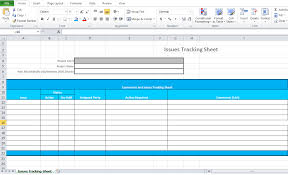 Issue Tracking Template Excel Microsoft Issue Tracking Template Excel Microsoft Excel Tmp