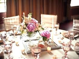 simple centerpieces for round tables wedding decor fun ideas table