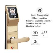 home security door locks. Beautiful Security China Face Recognition Smart Lock Home Security Door 4  Unlocking Methods For Home Security Door Locks O