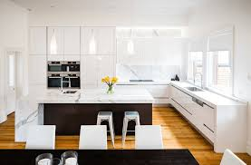 white modern kitchen. White Modern Kitchen A