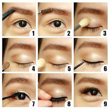 make up sederhana riasan mata