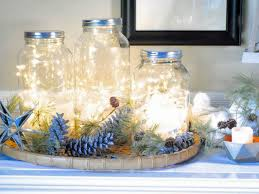 Ideas For Decorating Mason Jars For Christmas Mason Jar Christmas Centerpiece 100 Modern Easy DIY Ideas 32